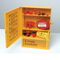 Combined Lockout & Lock Box Station w/ Components