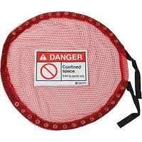 Lock Red Mesh Cover, Conf Space - Small