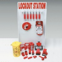 Adjustable Lockout Stations - Small Lockout Station